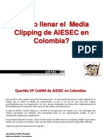 Media Clipping AIESEC Colombia