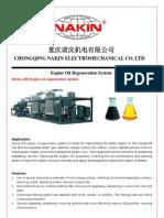JZS Engine Oil Regeneration Device System
