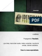 Apresentação Identidade Zarabatana abril 20112