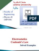 Solved Problems- Electrostatics