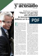 Reportaje sobre Garzón - Juez y Acusado