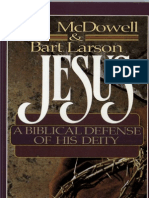 Jesus - A Biblical Defense of His Deity