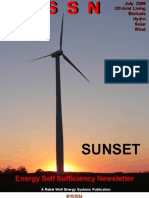 DIY Wind turbine upgrading