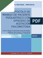 PROTOCOLO FINAL AGITACIÓN PSICOMOTORA