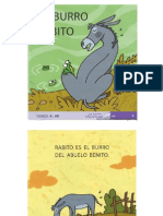 El Burro Rabito - Libro Infantil