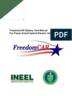 Test Manual_FreedomCAR HEV