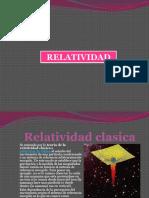 Relatividad Clasica y General