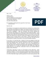 Letter to Nysdoh Re Jhl