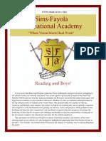 Sims-Fayola International Academy Newsletter