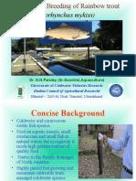Dcfr Trout aquaculture