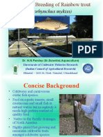 Dcfr Trout aquaculture