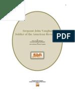 Sergeant John Vaughan - Soldier of the American Revolution