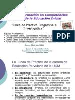 LINEA DE PRÁCTICA CARRERA EDUCACION PARVULARIA UCM