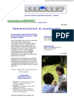 Communication & Leadership