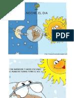 La noche el día - Libro infantil