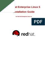 Red Hat Enterprise Linux 5 Installation Guide Es ES