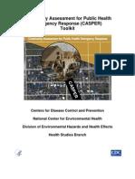 Community Assessment for Public Health Emergencies