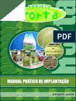Projeto Horta - Manual Prático de Implantação - Governo do Estado de São Paulo