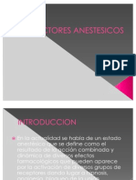 INDUCTORES ANESTESICOS