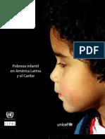 Pobreza Infantil en América Latina y el Caribe 2010