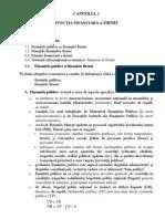 Capitolul 1 - Functia Financiar a Firmei