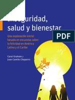Inseguridad, Salud y Bienestar América Latina y el Caribe