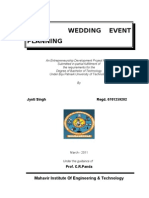 Wedding Event Planning