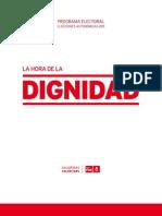 PSPV Programa autonómicas 2011