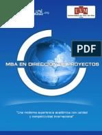 Mba Direccion de Proyectos