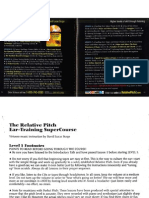 Relative Pitch Ear Training by David Lucas Burge (Manual)