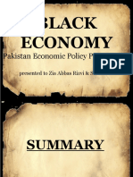 black economy in pakistan