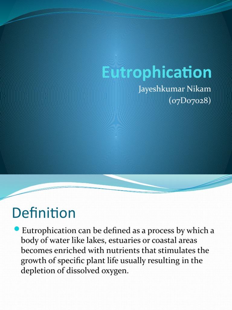 eutrophication 123 | eutrophication | lake