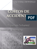 Costo de Accidentes
