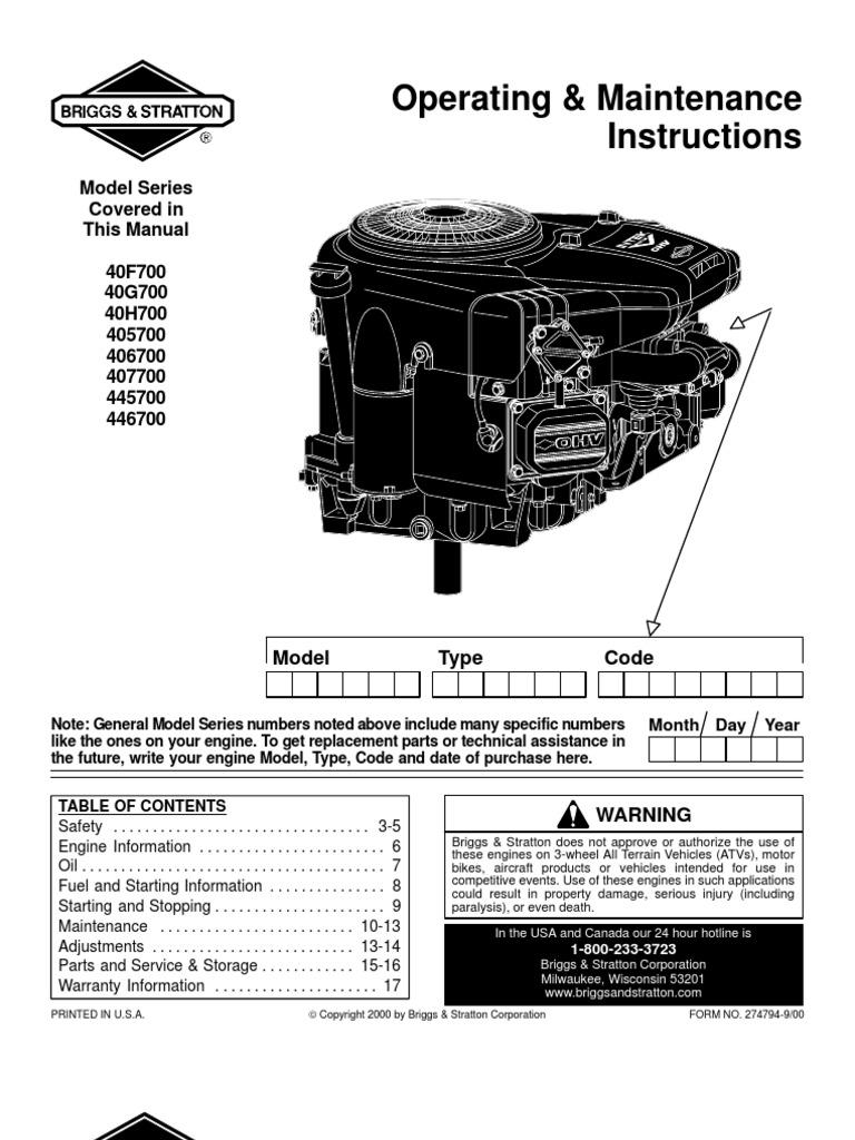 Briggs Stratton Engine Wiring Diagram Besides Briggs And Stratton