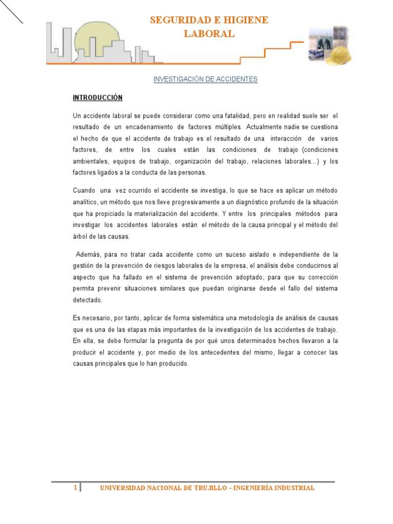 Único Plantilla De Informe De Incidente Pdf Fotos - Colección De ...