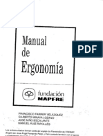 I Manual de Ergonomia Introducci n