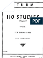 Sturm - 110 Studies for Contrabass Vol.I (1-55)