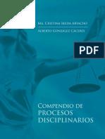 COMPENDIO DE PROCESOS DISCIPLINARIOS 2010