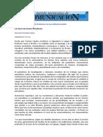 Los 4 Mandamientos Periodismo Literario Maricarmen Fernandez