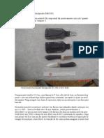 Review/Avaliação BenchMark Neck Knife Backpacker BMK 001
