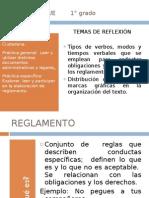 el reglamento