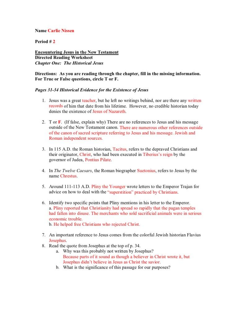 worksheet Jesus In The Temple Worksheet chapter 1 scripture new testament jesus