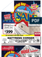 001 Mattress Corner-Memorial Day Sale