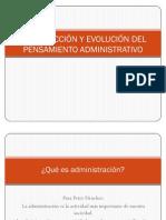 Introduccin y Evolucin Del to Administrativo