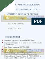 DISEÑO BASICO DE DUCTOS