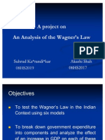 Wagner's Law Presentation