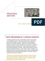 Podrska Razvoju Privatnog Sektora u Boru