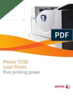 Phaser 5550 Tab Broch