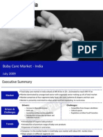 Baby Care Market India Sample 090818050304 Phpapp02
