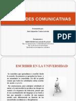Escribir en La Universidad (2)